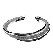Three Rows Of 925 Silver Bracelet