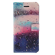 Fragrant Smell Fancy Water Drops Pattern Full Body Case with Matte Back Cover and Stand for iPhone 5/5S