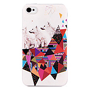 Puzzle Dog Back Case for iPhone 4/4S