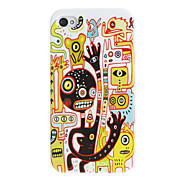 Scary Montsers Pattern Hard Case for iPhone 4/4S