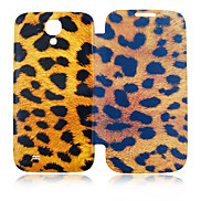 Leopard Full Body Leather Case for Samsung Galaxy S4 I9500