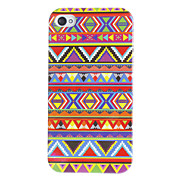 Triangles Waves Pattern Hard Case for iPhone 4/4S