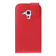 Vertical Magnetic PU Flip Leather Case for Samsung Galaxy S3 Mini I8190