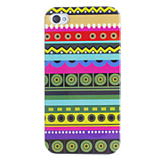 Multiple Circles Pattern Hard Case for iPhone 4/4S