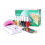 DIY Nail Art vernice di colore del kit macchina da stampa (tslr0021)