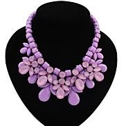 New Fashion Stone Bib Necklace