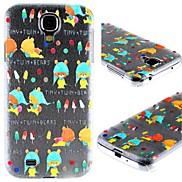 Cartoon Color Bear Design PC Hard Case for Samsung S4 I9500