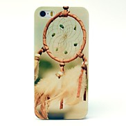 Green Color Dream Catcher Pattern Hard Case for iPhone 5/5S