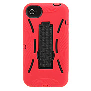Robot Design PC Protective Case for iPhone 4/4S(Assorted Color)