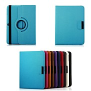 Rotating Leather Case with Card Slot and Stylus Pen for Samsung Galaxy Tab 4 T530 (Assorted Colors)
