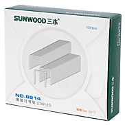 Sunwood®  8214 140 Pages Thick Layer Of Staples/Stitching Needle Size 23/17 1000Psc / Box