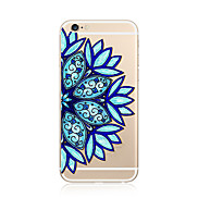 Case for iPhone 7 Plus 7 Cover Transparent Pattern Back Cover Case Mandala Soft TPU for Apple iPhone 6s plus 6 Plus 6s 6 SE 5s 5c 5 4s 4