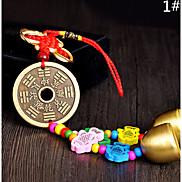Bag / Phone / Keychain Charm Jingle Bell Cartoon Toy Chinese Style Metal
