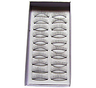 Natural Looking and Curved Lashes 112# - 10 Pairs Per Box