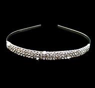 Gorgeous Clear Crystals Wedding Bridal Tiara/ Headpiece/ Headband