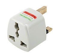 Universal US EU AU to UK Ac Power Plug Adapter Travel Converter(CEG404)