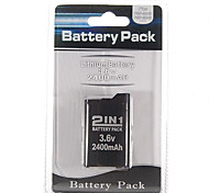 Battery Pack for Sony PSP 2000/3000 (2400mAh)