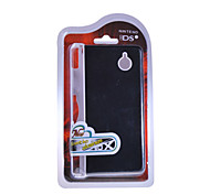 Custodia protettiva in plastica con coperchio in alluminio per Nintendo DSi (nero)