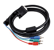 VGA to Component Video TV-Out Cable 0.1M