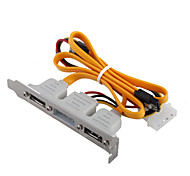 3-en-1 e-sata power cable 0.35m