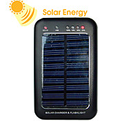1,600mAh solar charger for mobiles, cameras and MP3/MP4 Players