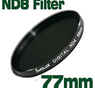 emolux de densidad neutra de 77mm ND8 filtro (sqm6015)