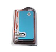 carcasa de aluminio dura cubierta de la caja para Nintendo DS (azul claro)