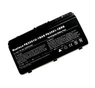 substituição da bateria do laptop toshiba gst3591 para a série EQUIUM L40 (14.4v 2600mAh)