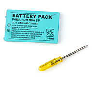 batterij pack voor Game Boy Advance SP (850mAh)