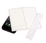 diy autocollant de protection pour iPhone 4 - blanc