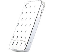 Detachable Plating Backside Case for iPhone 4 Silvery