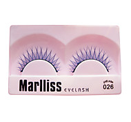 1 Pair Fancy Fashion False Eyelash 026