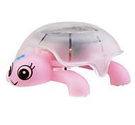 solaire miniature cristal ramper tortue (couleur aléatoire)
