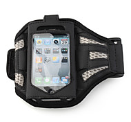 premium sports brassard pour 4/itouch Apple iPhone 4 - argent