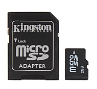 2GB Micro SD/TF Memory Card and SD Adapter
