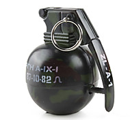 Hand Grenade Shaped Lighter with Sound Effect (Black)