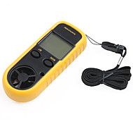 "Smart-Sensor 1.5"" LCD Digital Wind Speed Anemoscope + Wind Chill Thermometer"