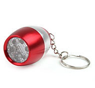 6 LED Weinflasche Schlüsselanhänger Taschenlampe 2xcr2032 rot