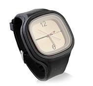douce gelée de silicium montre, en noir