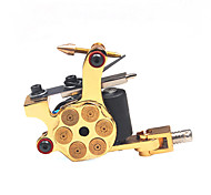 Coil Tattoo Machine Professiona Tattoo Machines Cast Iron Liner and Shader Hand-assembled