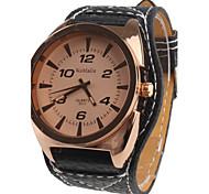 Frauen Analog Quarz Armbanduhren (schwarz)