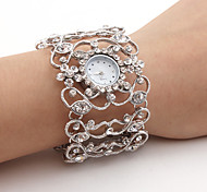 Women's Diamond Style Bracelet Wrist Watch (Silver) Cool Watches Unique Watches