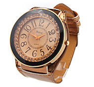 PU Leather Band LED Fashion Wrist Watch