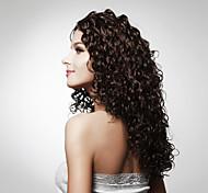 монолитным долго высшего класса качества синтетических вьющиеся волосы парика несколько цветов, доступных