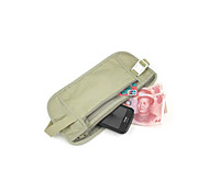 segrete anti-perso marsupio per il passaporto e le credenziali (beige)