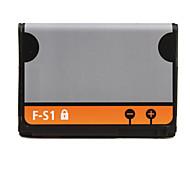 3.7V~1270mAh Li-ion Battery for Blackberry F-S1