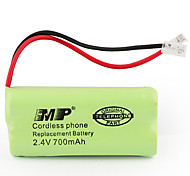 2.4V 700mAh Cordless Phone Replacement Battery (2 x AA)