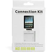 Conjunto de Conexão de Câmara com Leitor SC para iPad