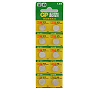 1.5V High Capacity Alkaline Button Cell Batteries - A76-LY (10-pack)