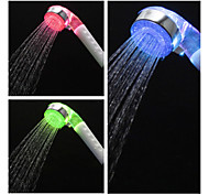 2.4-inch Water Powered 1–LED Shower Head (Plastic, Chrome Finish)